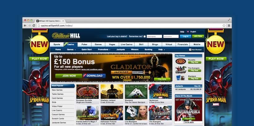 online casino william hill casino spiele kostenlos online